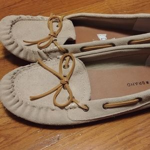Lucky Brand Moccasin Loafers, size 10
